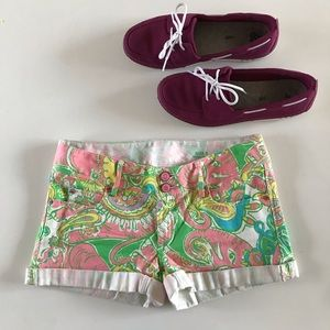 {Lilly Pulitzer} Clifton shorts, 0